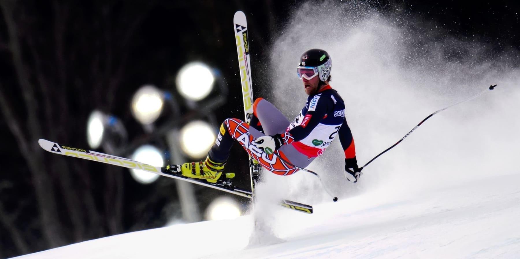 Лыжи - опасный вид спорта