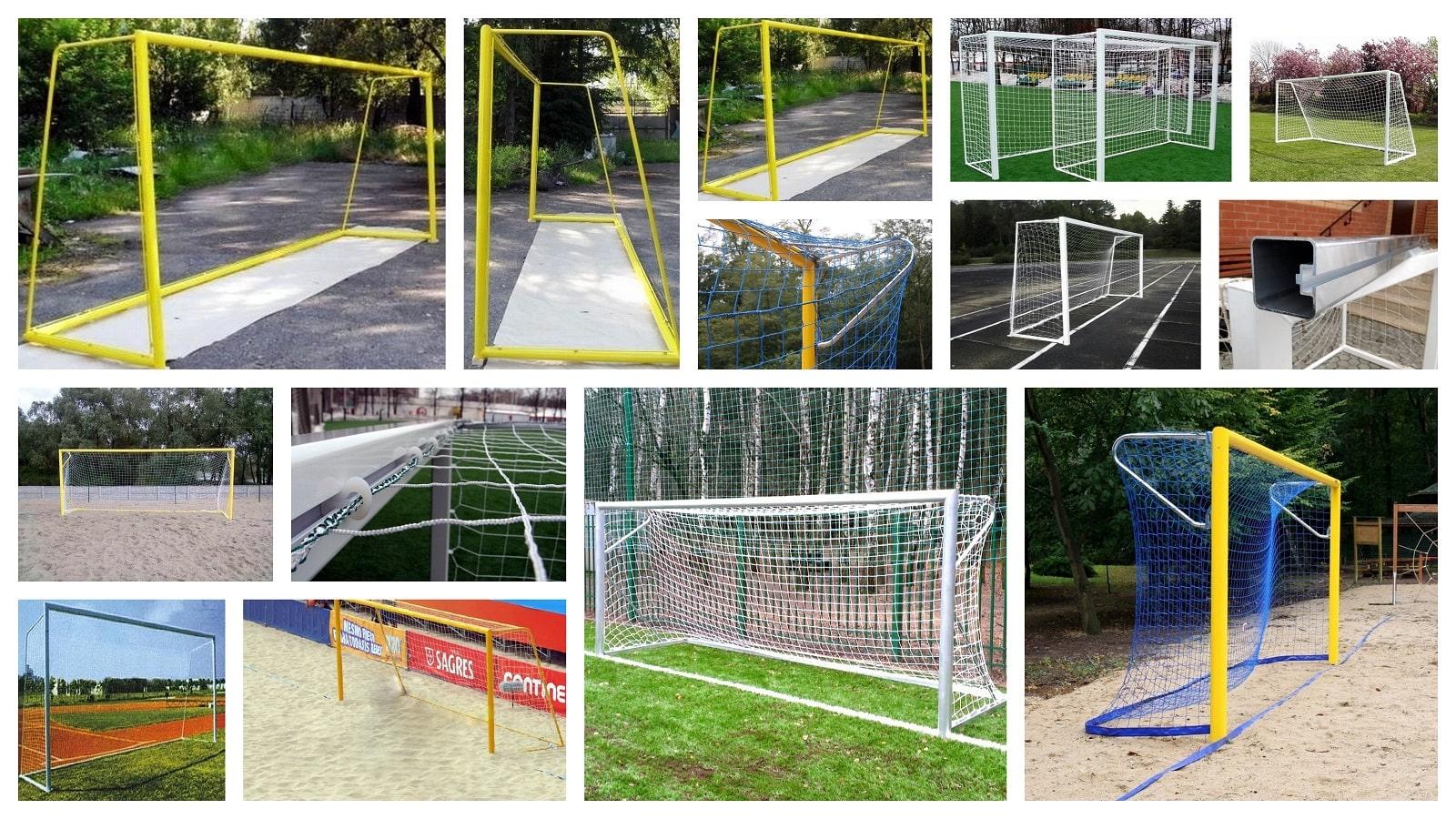 Фото алюминиевые ворота для футбола