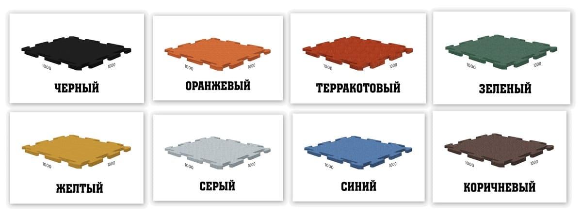 Стандартные цвета покрытий для тира