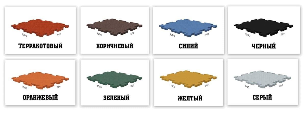 Стандартные цвета покрытий для бассейнов