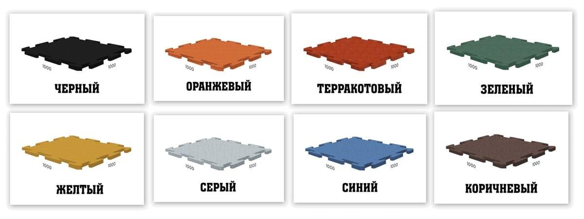 Стандартные цвета покрытий Ласточкин хвост