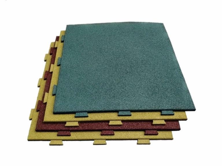 Модульные напольные покрытия со скрытым замком - Rubblex