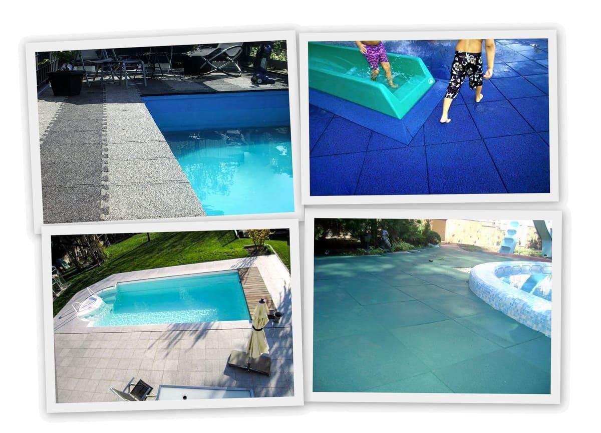 Резиновое покрытие для бассейнов фото