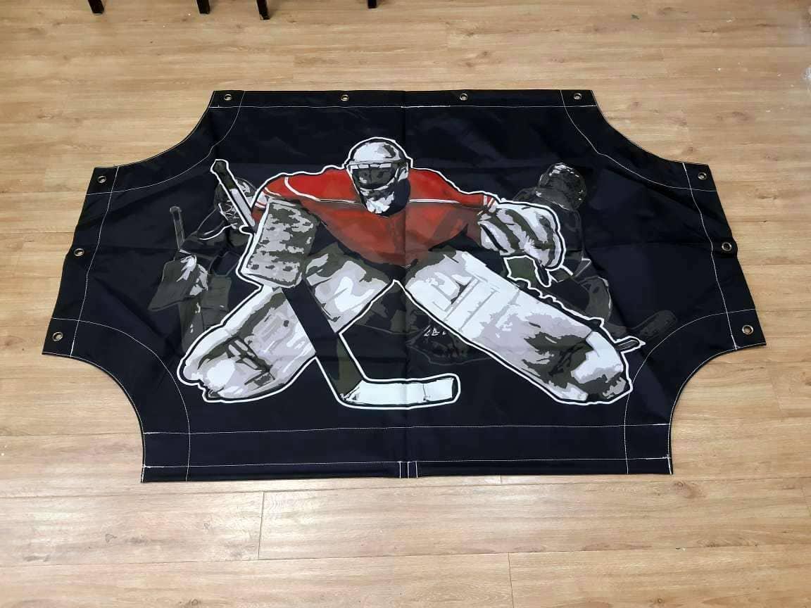 Имитатор вратаря для хоккейных ворот реальное фото
