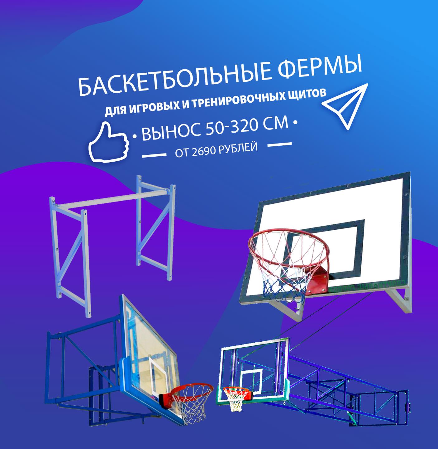 Расширение ассортимента: фермы для баскетбольных щитов фото