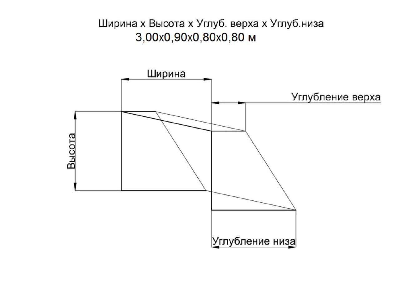 Схема сетки 3,0 мм (2шт) для водного поло