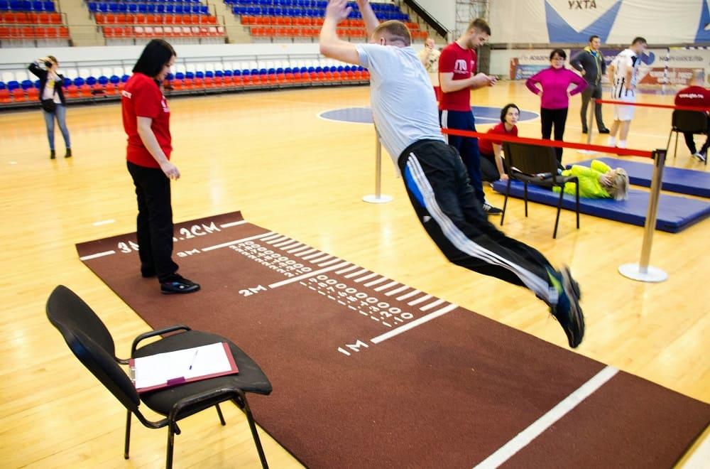 Дорожка для прыжков - государственный норматив