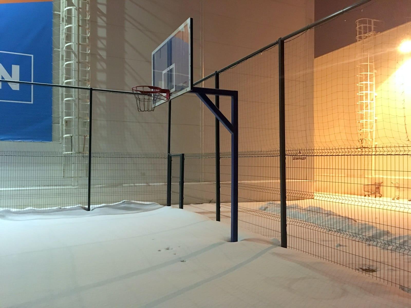 Стойка уличная баскетбольная, вынос 1,2 метров