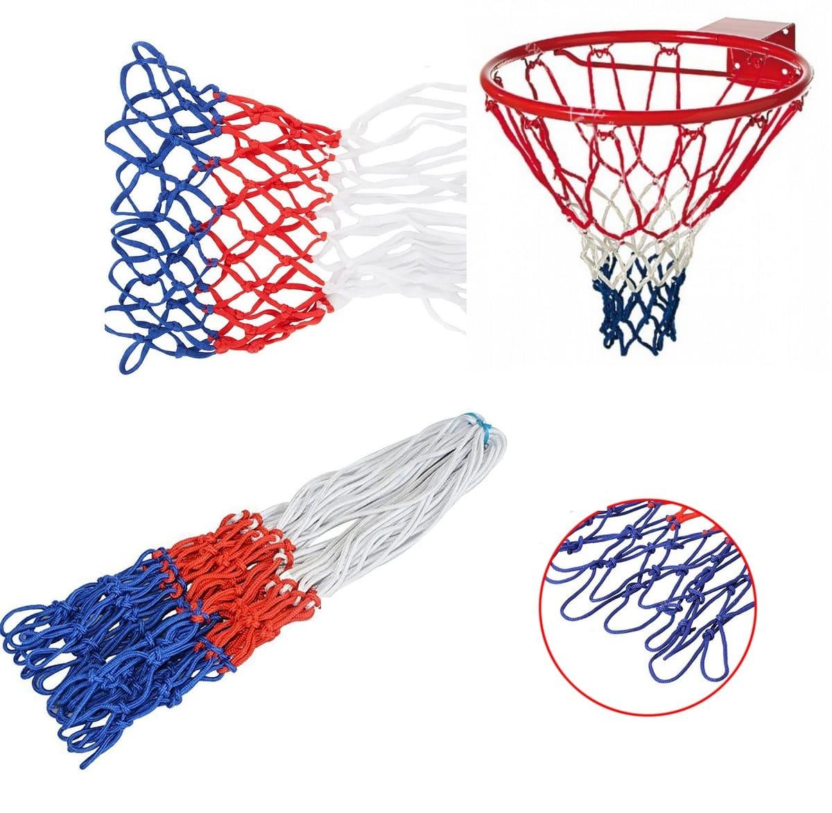 Сетка баскетбольная триколор 4,5 мм фото