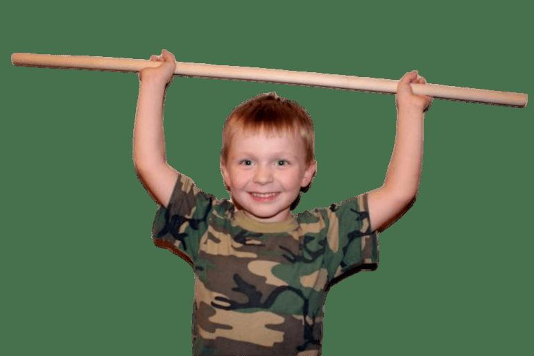 Палка гимнастическая для детей