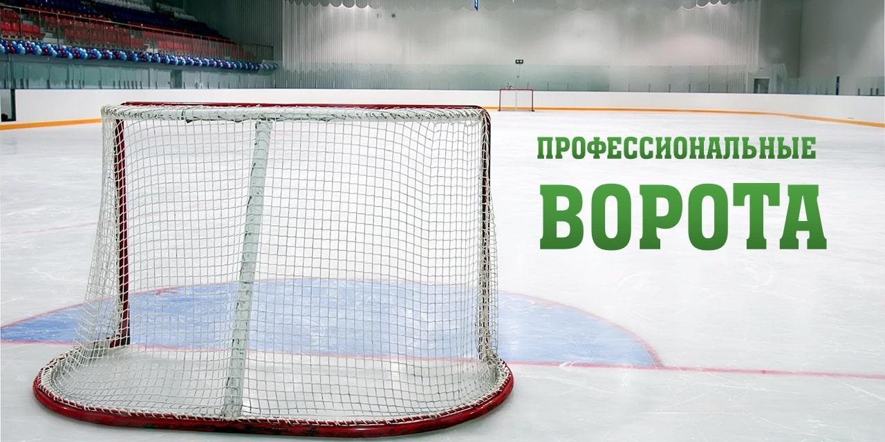 Профессиональные хоккейные ворота фото