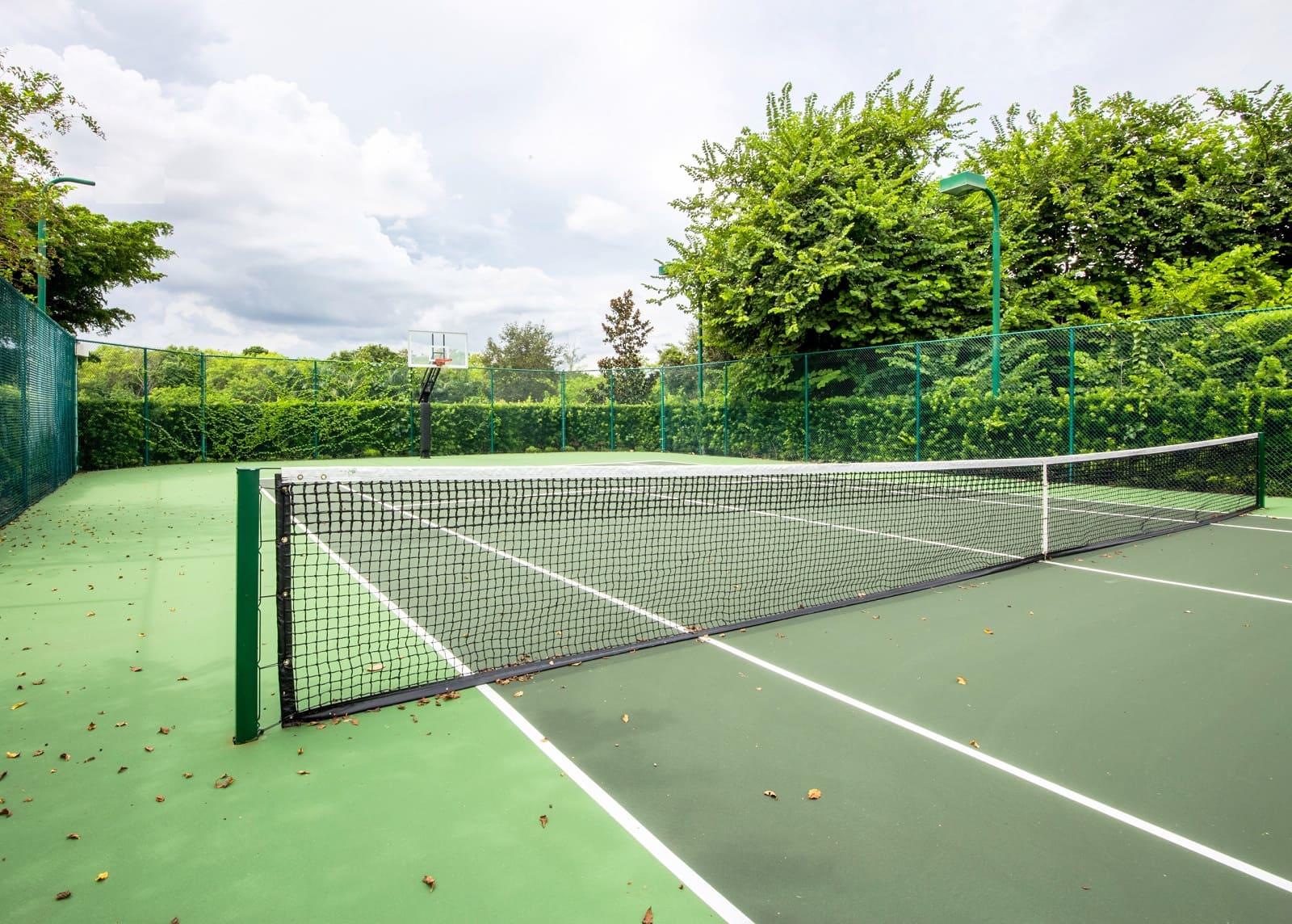 Центральная линия для теннисной сетки