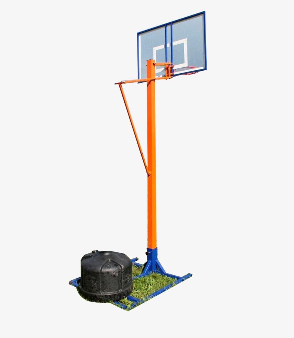 Стойка баскетбольная мобильная уличная фото