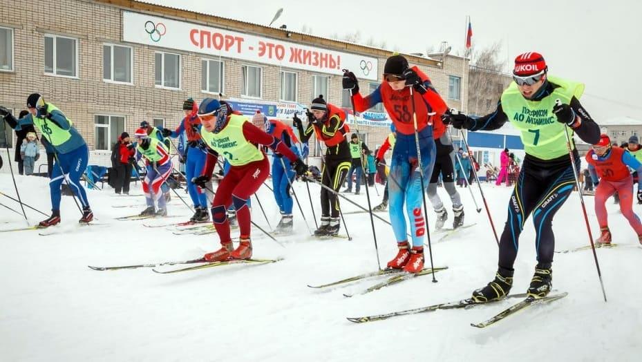 Массовый спорт в России