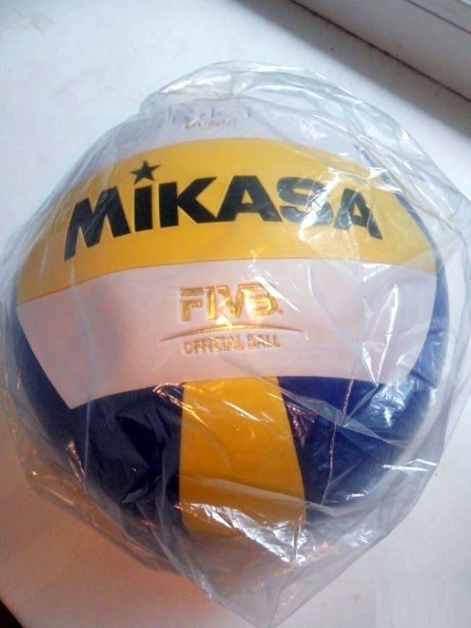 Мяч волейбольный Mikasa MV 5 PC 1/50 фото