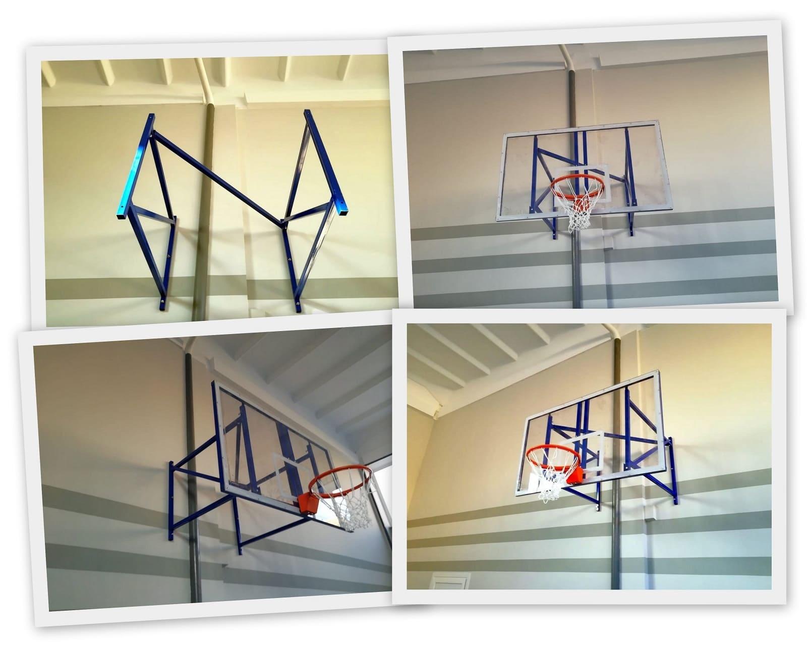 Щиты и фермы для баскетбола фото
