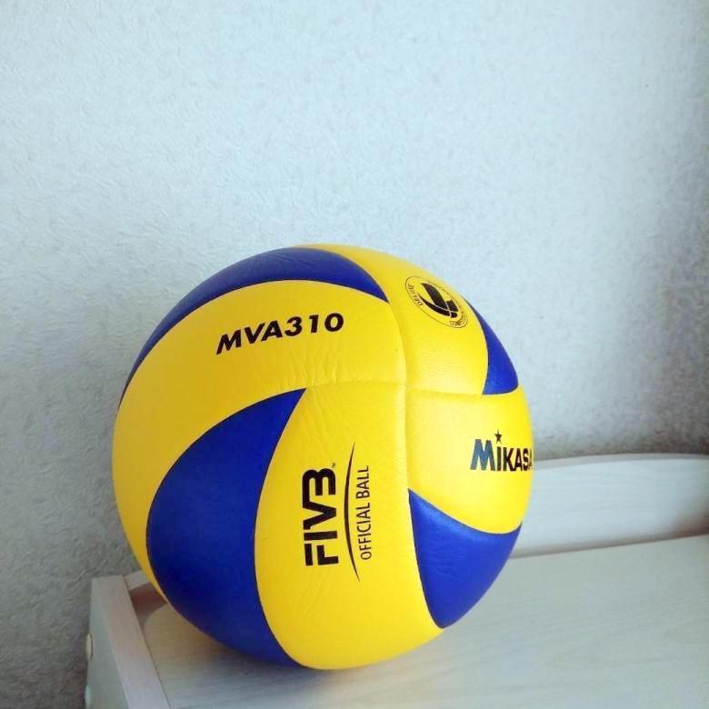 Мяч волейбольный Mikasa MVA 310 фото