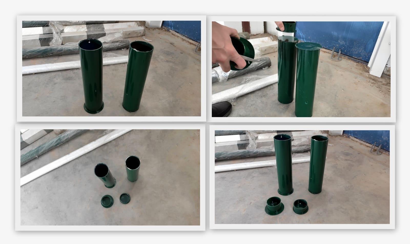 Стаканы для теннисных стоек 350 мм, (пара)