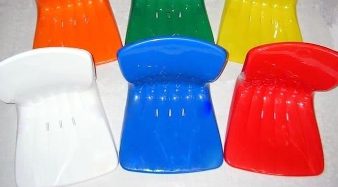 Сидение пластиковое Арена триколор