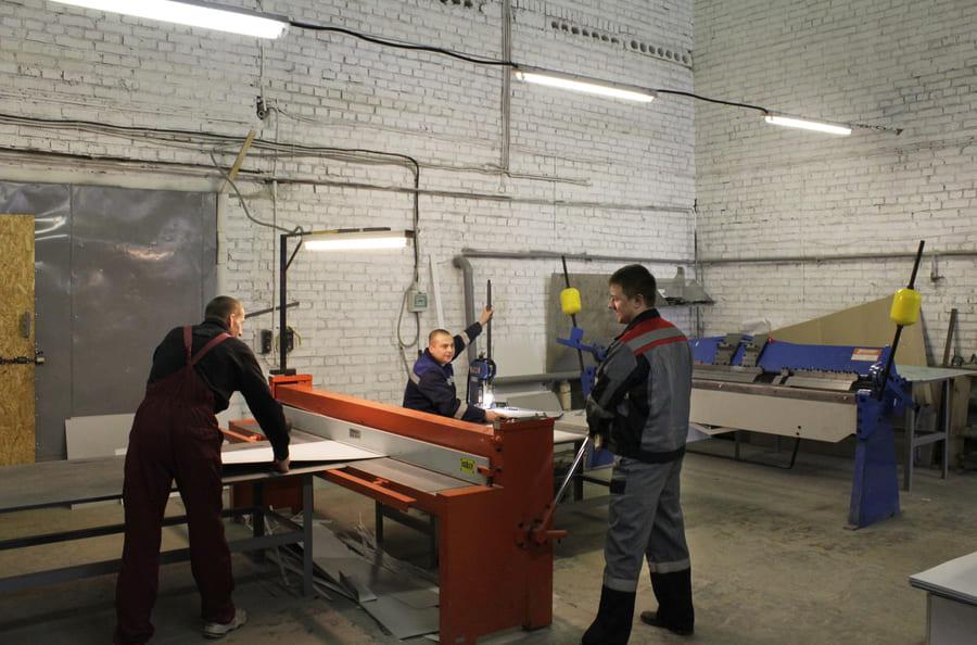 Производство - фото №10 Производство на профессиональном оборудовании. Клик для увеличения