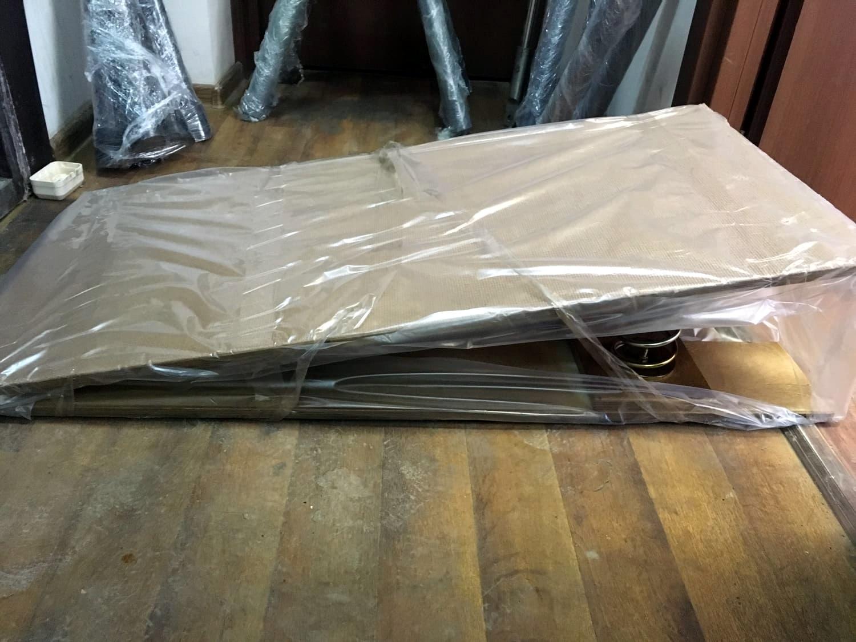 Производство - фото №3 Готовый продукт - мостик гимнастический. Клик для увеличения